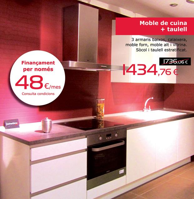 Muebles de cocina solomat cocinas ba os cer mica for Ofertas de cocinas completas