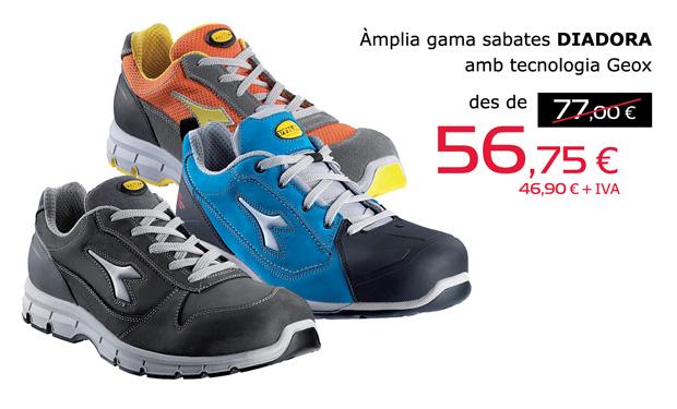 Amplia gama de zapatos DIADORA con tecnología GEOX, desde 56,75€.