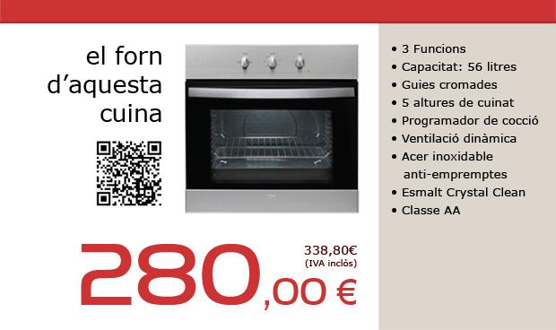 Oferta de forn de cuina inoxidable a Terrassa